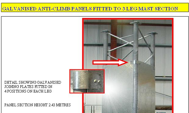 Anti Climb Devices Radio Structures Ltd