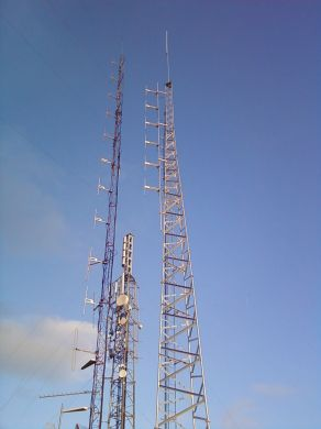 TRS1-5  27 Metre Self Supporting Tower
