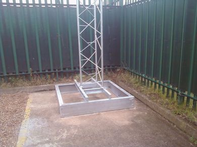 Masts Towers Posts Slimline Lattice Masts Sl40 1
