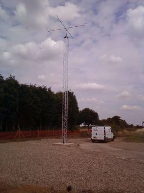 SL50(3) Heavy Slimline Lattice Mast = 9 Metres
