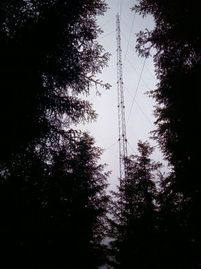 SL40GM21  21 Metre Guyed Lattice Mast