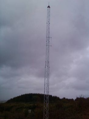 SL50(2)40(2) Slimline Lattice Mast with Adaptor Frame = 12 Metres