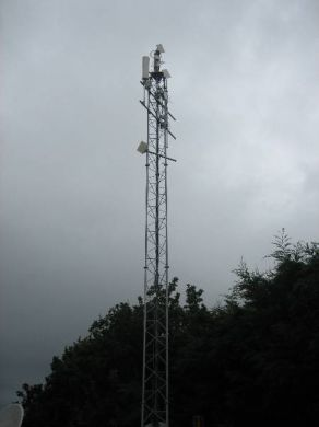 SL50(4) Heavy Slimline Lattice Mast = 12 Metres