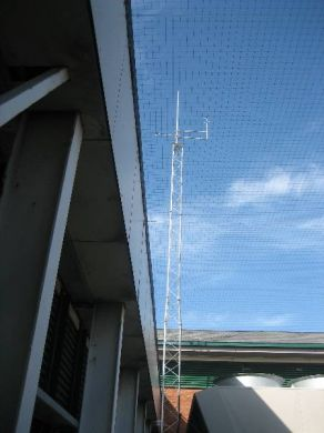 SL50(2)40(3) Slimline Lattice Mast With Adaptor Frame = 16 Metres