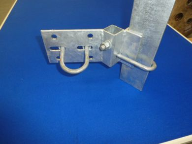 "VTB-8 Vertical Angle Mounting Bracket with 8\\\"" J/Bolts"