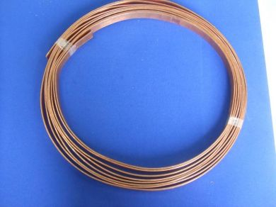 25 x 3mm Flat Bare Copper Earthing Tape