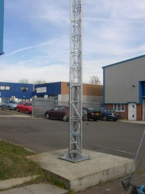 BM18 Wind-up Static Lattice Mast 18 Metres