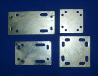 Galvanised Crossover Plate Complete with U/Bolts (CO/1.5 to CO/4.5)