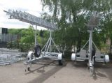 TM100 Mobile Trailer Mast