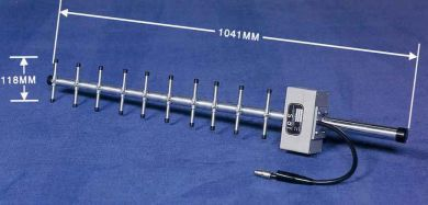 UHF12-900 Twelve Element UHF Yagi Frequency Range 700 - 980MHz