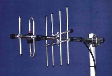 UHF3GR Three Element UHF Yagi With Grid Reflector Frequency Range 380 - 500MHz